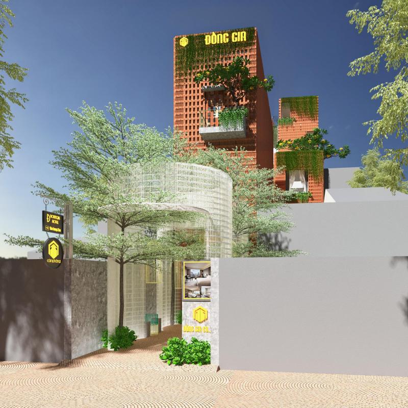 Mặt tiền dự án Đ Boutique Hotel